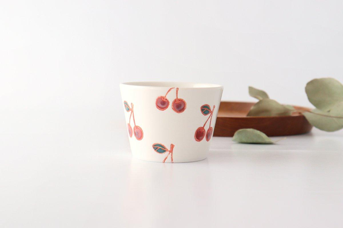 マルチカップ サクランボ 磁器 fruits 波佐見焼 画像5