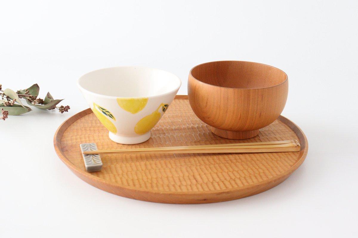ご飯茶碗 レモン 磁器 fruits 波佐見焼 画像3