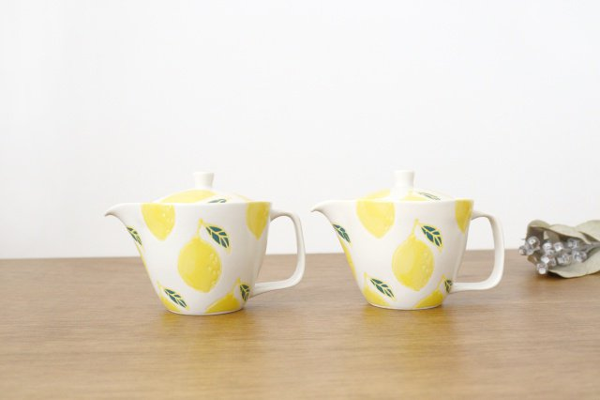 ポット レモン 磁器 fruits 波佐見焼 画像3