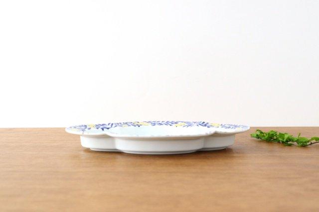 木瓜皿 L ミモザ 磁器 有田焼 画像4