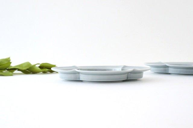 木瓜皿 M ブルーグレー 磁器 波佐見焼 画像4