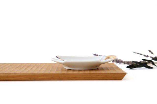 ティーカップ型プレート 矢羽根丸紋 磁器 有田焼 画像6