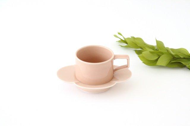 木瓜カップ&ソーサー ベビーピンク 磁器 波佐見焼