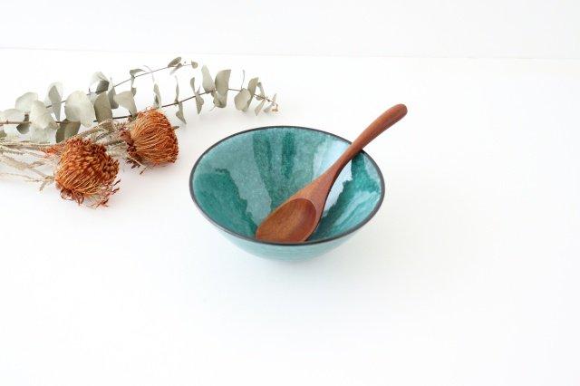 ボウル トルコブルー 陶器 BOL 美濃焼