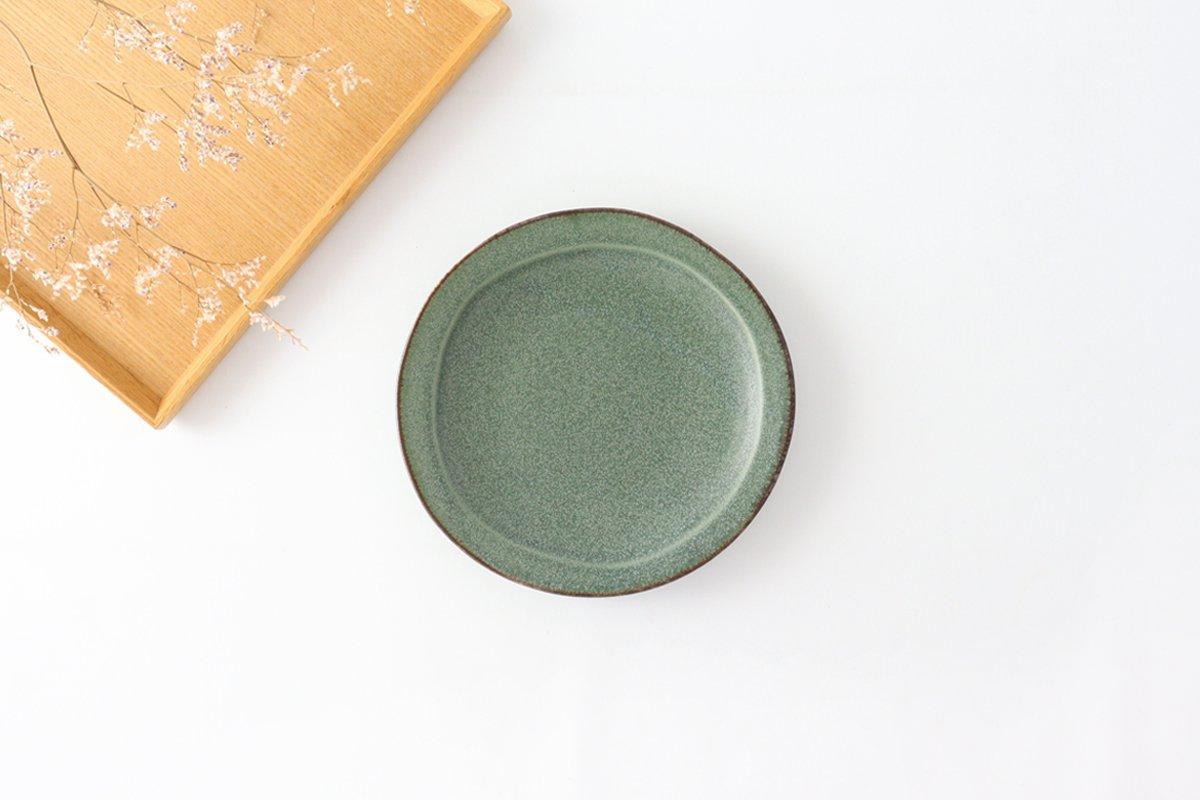 取り皿 グリーン 磁器 kei 美濃焼