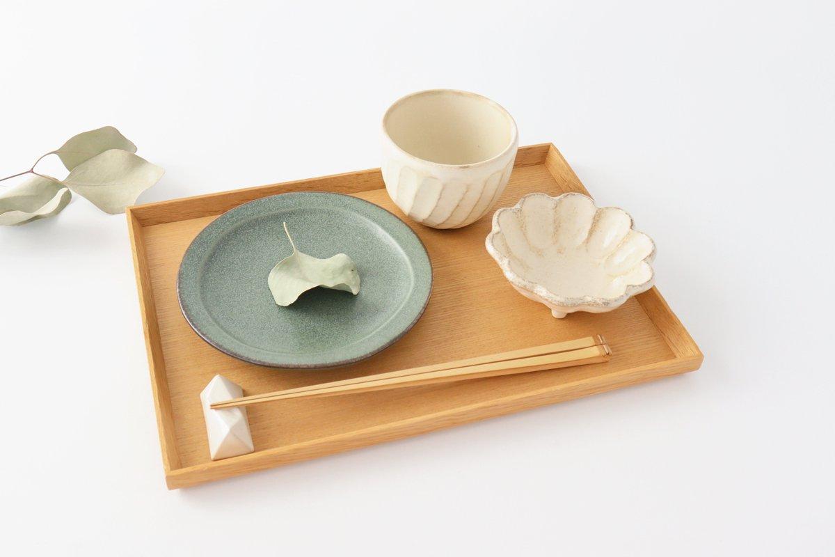 取り皿 グリーン 磁器 kei 美濃焼 画像2