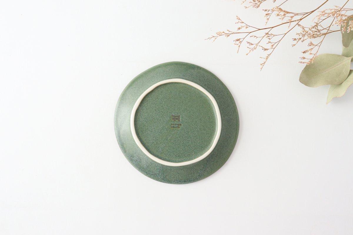 取り皿 グリーン 磁器 kei 美濃焼 画像3