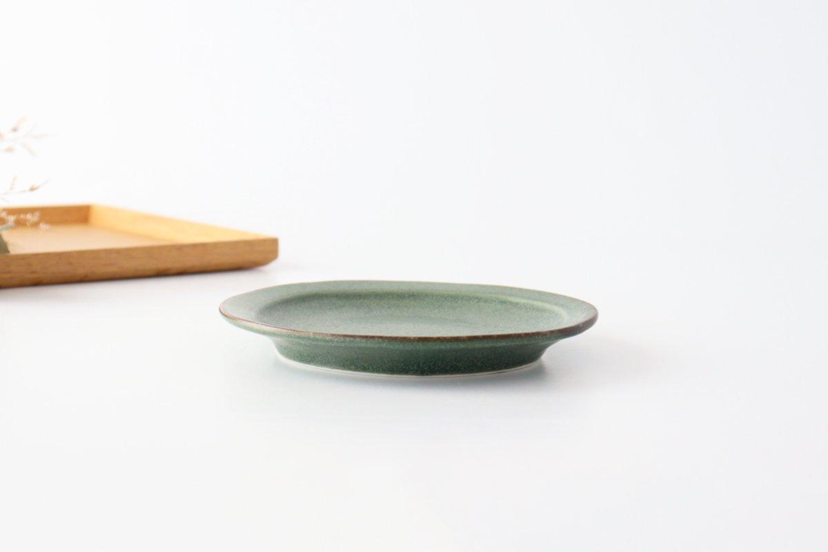 取り皿 グリーン 磁器 kei 美濃焼 画像4