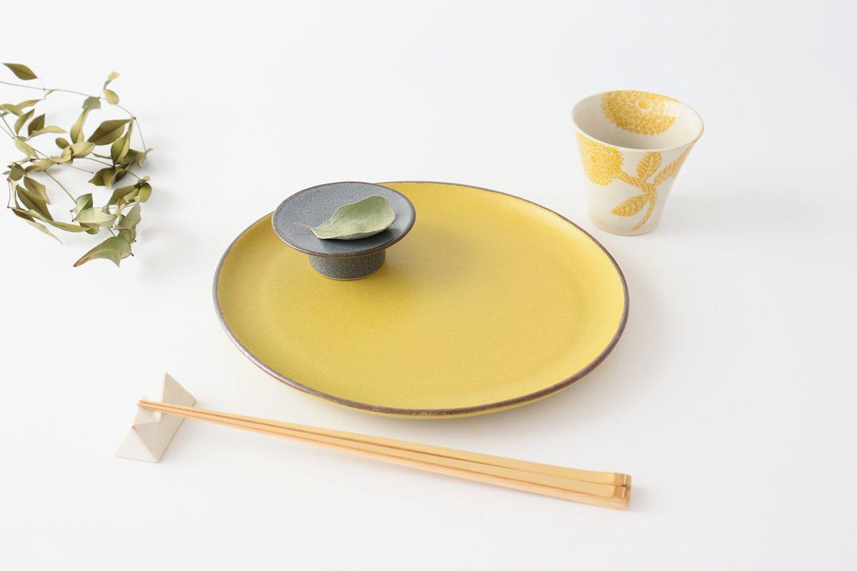 大皿 マスタード 磁器 kei 美濃焼 画像4