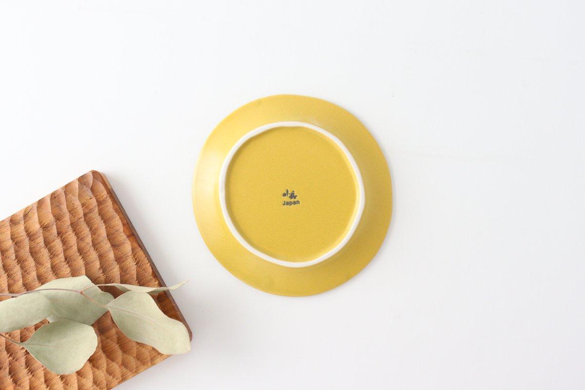 取り皿 マスタード 磁器 kei 美濃焼 画像3