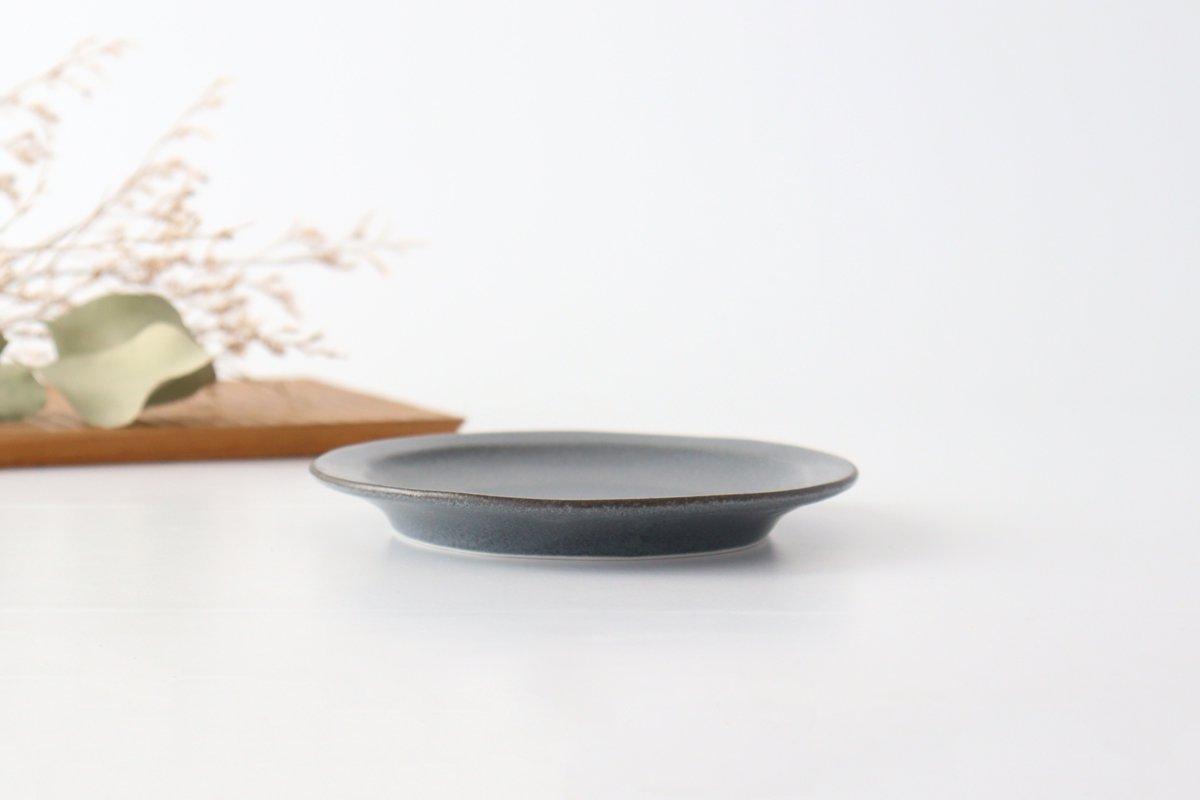 取り皿 グレー 磁器 kei 美濃焼 画像3