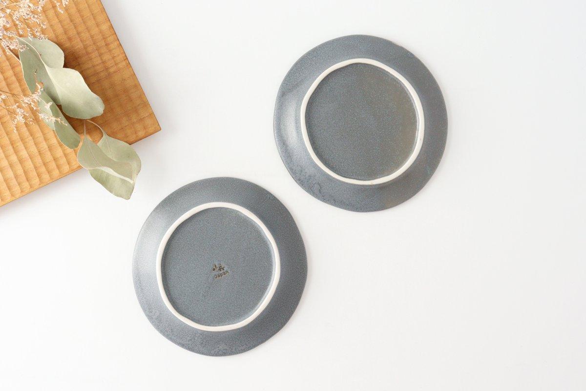 取り皿 グレー 磁器 kei 美濃焼 画像4