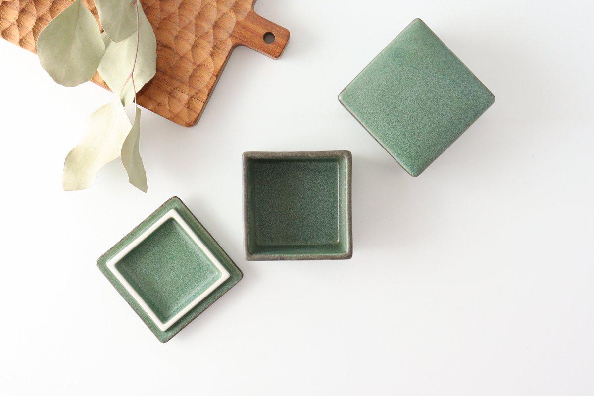 チビ重 グリーン 磁器 kei 美濃焼 画像2