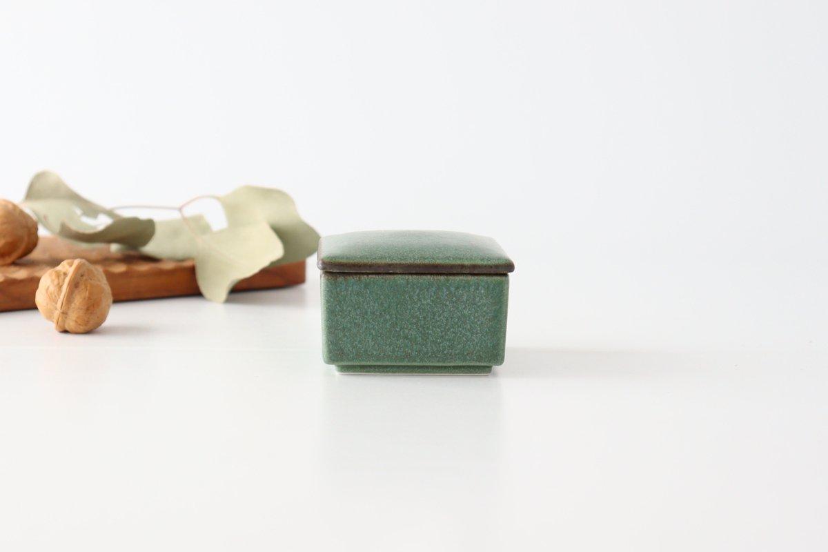 チビ重 グリーン 磁器 kei 美濃焼 画像4