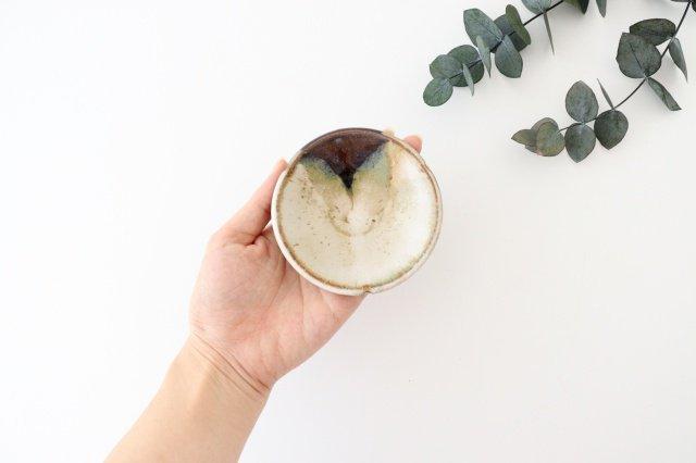 小皿 朝鮮唐津三山 陶器 美濃焼  画像2
