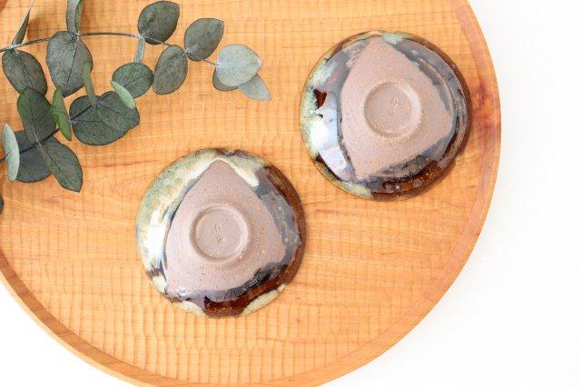小皿 朝鮮唐津三山 陶器 美濃焼  画像3