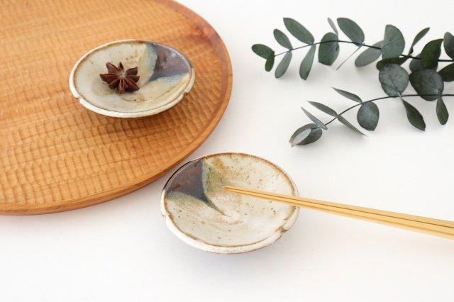 小皿 朝鮮唐津三山 陶器 美濃焼  画像6