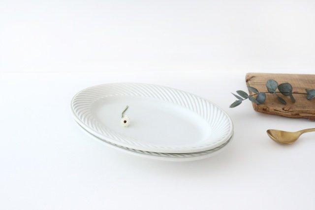 illa oval L 磁器 KANEAKI SAKAI POTTERY 画像6
