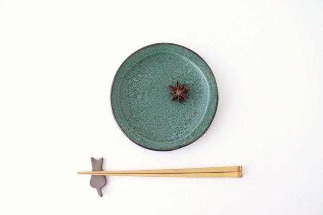 箸置き ネコ 黒 陶器 美濃焼 画像6