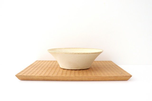 反り鉢 S 白 陶器 美濃焼 画像3