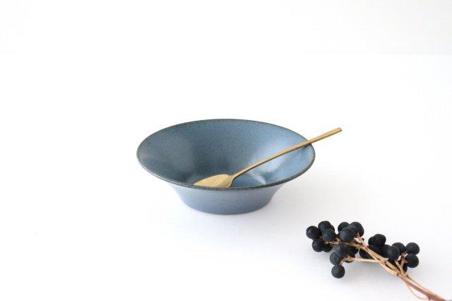反り鉢 S 紺 陶器 美濃焼