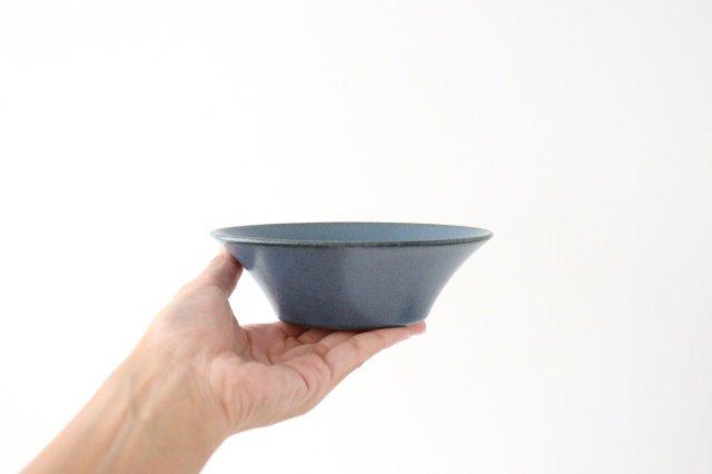 反り鉢 S 紺 陶器 美濃焼 画像2