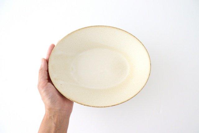 反り鉢 L 白 陶器 美濃焼 画像2