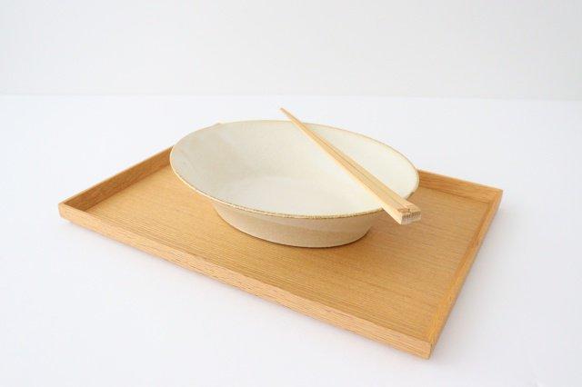 反り鉢 L 白 陶器 美濃焼 画像6