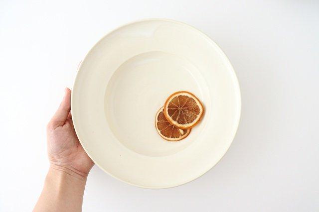 パスタ皿 白 陶器 酒井陶太 画像3