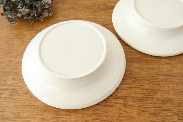 パスタ皿 白 陶器 酒井陶太 画像4