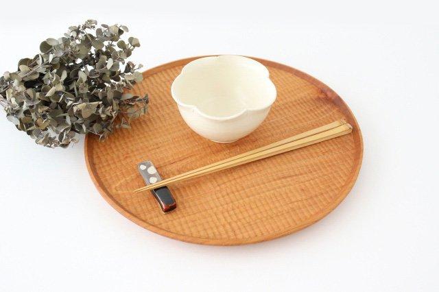 輪花小鉢 白 陶器 酒井陶太 画像5
