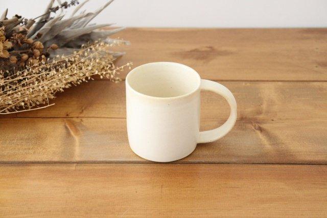 マグカップ 白 陶器 酒井陶太