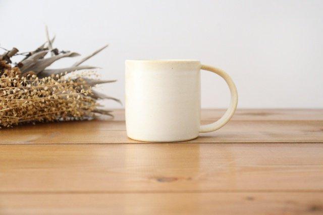 マグカップ 白 陶器 酒井陶太 画像2