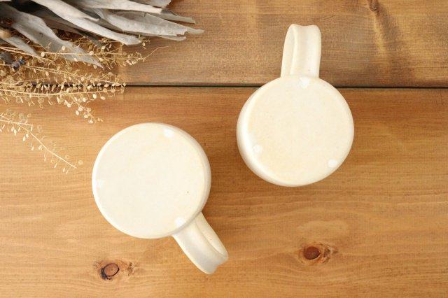 マグカップ 白 陶器 酒井陶太 画像4