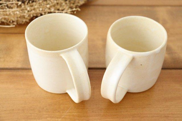 マグカップ 白 陶器 酒井陶太 画像6