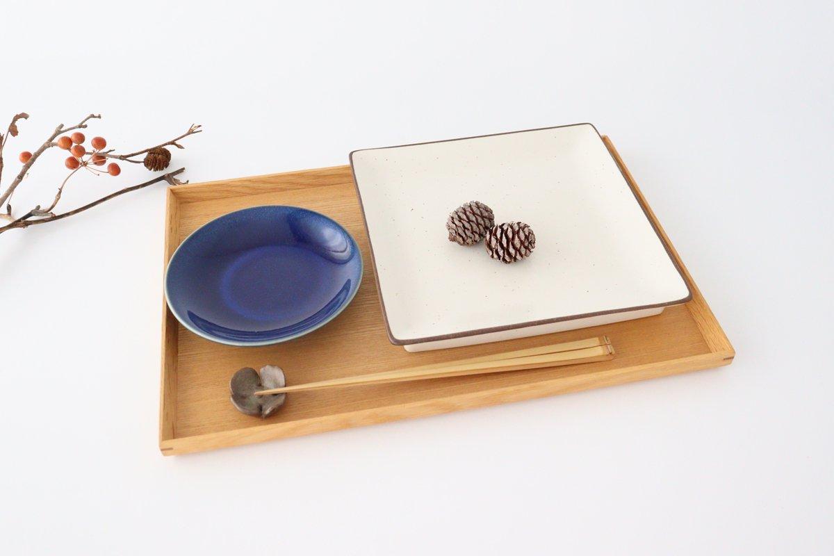 7寸正角皿 白 磁器 美濃焼 画像2