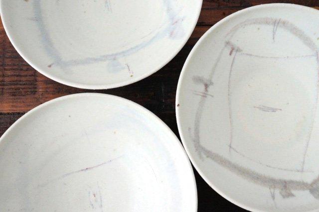 6寸浅鉢 彩御深井 陶器 南窯 美濃焼 画像2