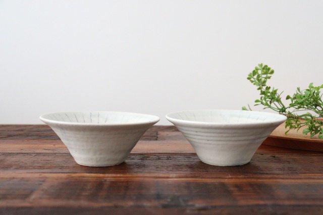 向付 彩御深井線刻 陶器 南窯 美濃焼 画像3