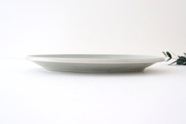 オーバル皿 L ケシズミ 磁器 calme 波佐見焼 画像4