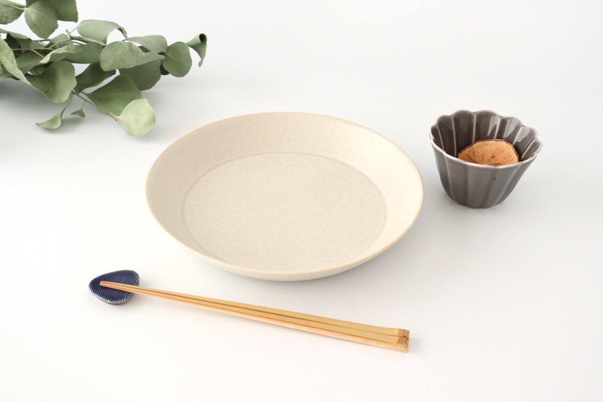 プレートボウル L シルバーホワイト 磁器 ウスラ 美濃焼 画像5