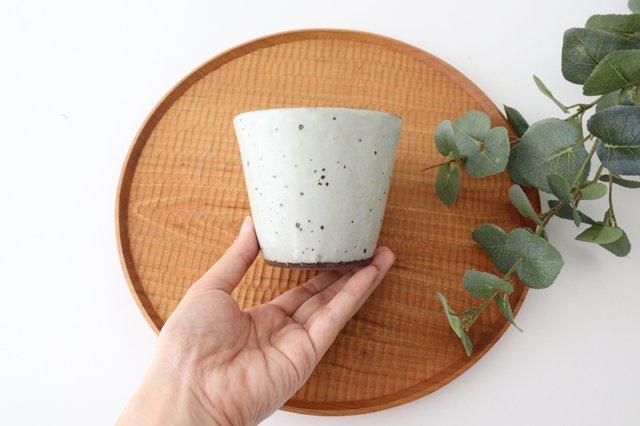 カップ 鉄粉引 陶器 信楽焼 画像4