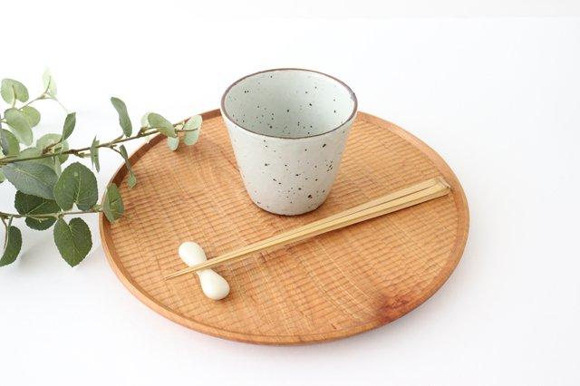 カップ 鉄粉引 陶器 信楽焼 画像5