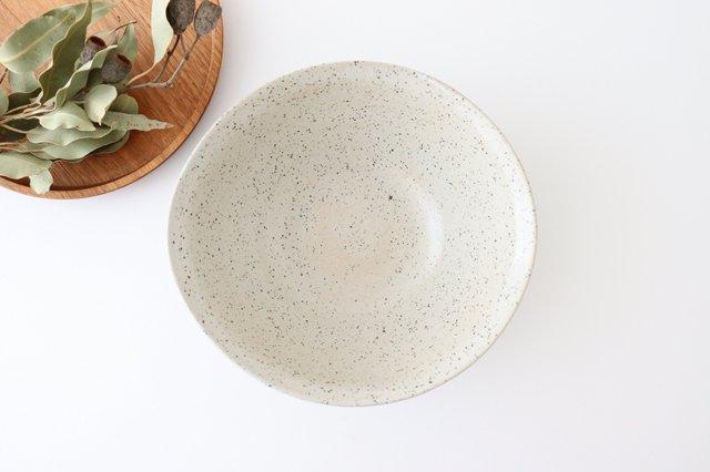 深鉢 ストライプ 黒 陶器 信楽焼 画像2