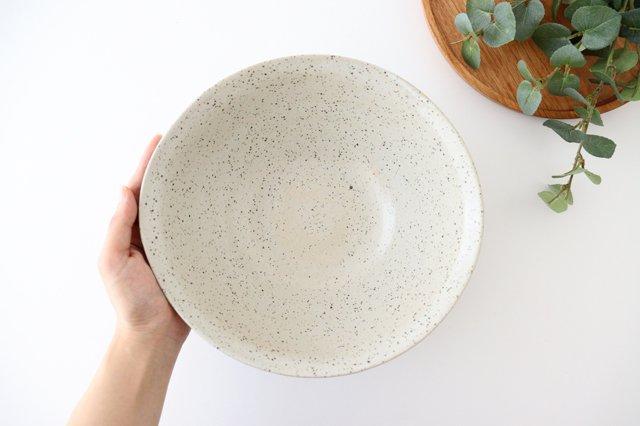 深鉢 ストライプ 黒 陶器 信楽焼 画像4