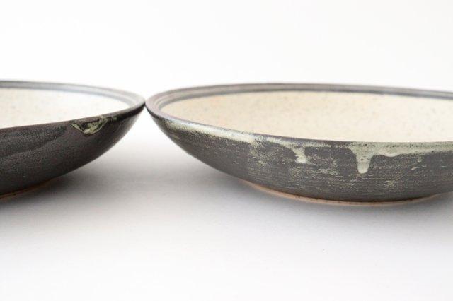 深皿 24cm 白 陶器 信楽焼 画像6