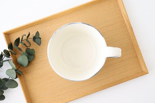 スープカップ 割れ粉引 陶器 信楽焼 画像2
