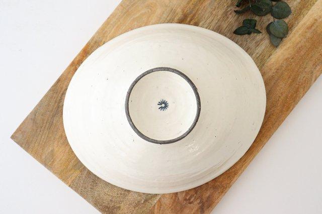 タワミ鉢 割れ粉引 陶器 信楽焼 画像4