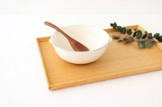 シチューボウル 割れ粉引 陶器 信楽焼商品画像