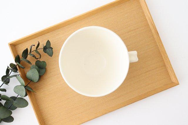 スープカップ 鎬 粉引 陶器 信楽焼 画像2