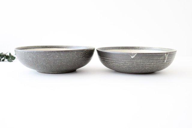 大鉢 灰釉粉引刻線 陶器 信楽焼 画像4